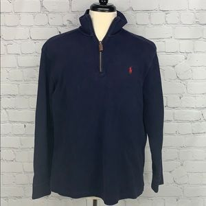 Polo Ralph Lauren 1/4 zip navy sweater